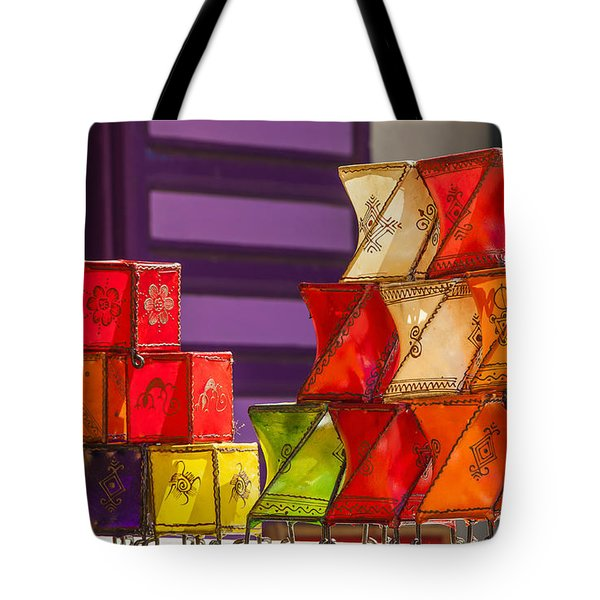 Colorful Lanterns Tote Bag