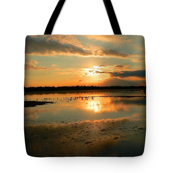 Tote Bag featuring the photograph Colorful Light by Rosalie Scanlon
