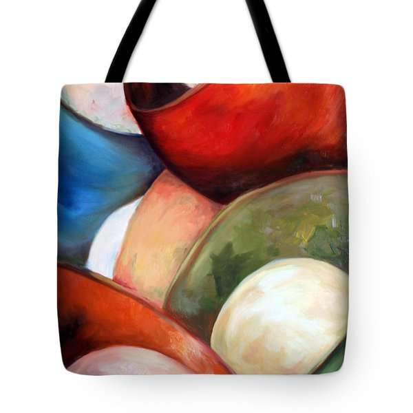 Colorful Lights Tote Bag by Meaghan Troup