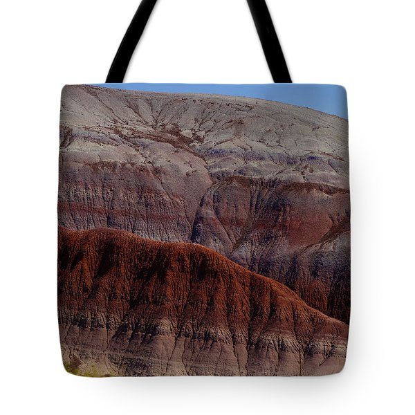 Colorful Mountain Tote Bag