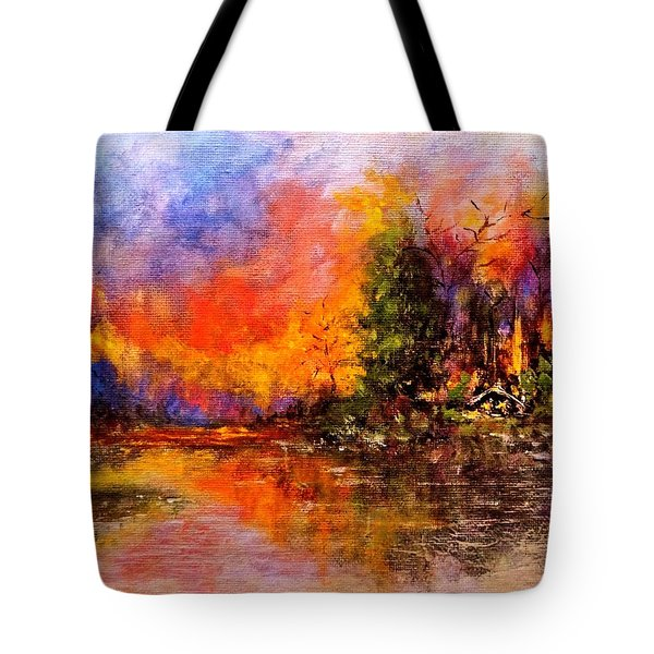 Colorful Night.. Tote Bag
