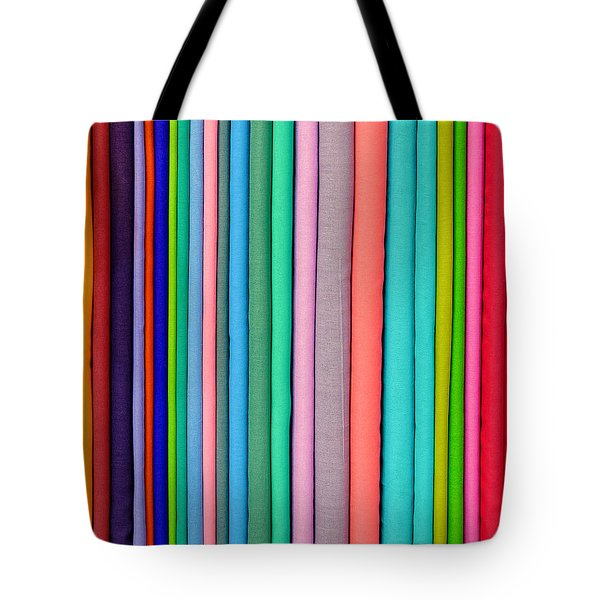 Colorful Pashminas Tote Bag