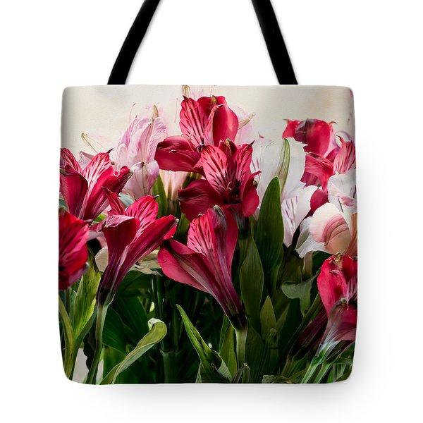 Colorful Peruvian Lillys Tote Bag