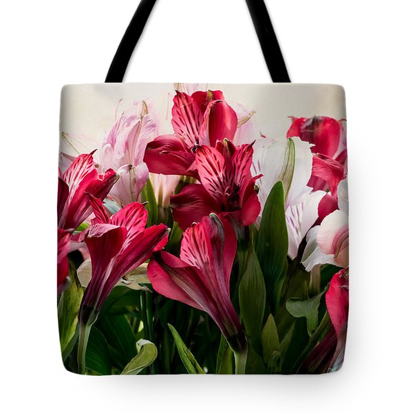 Colorful Peruvian Lillys Tote Bag