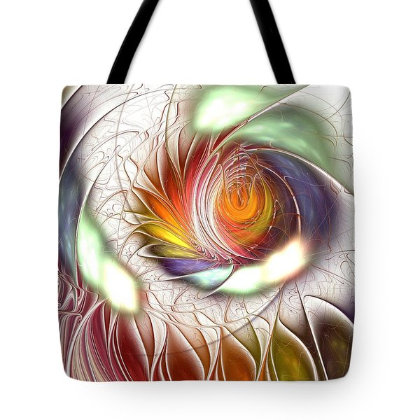 Colorful Promenade Tote Bag