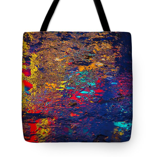 Colorful Reflections Tote Bag by Garry Gay