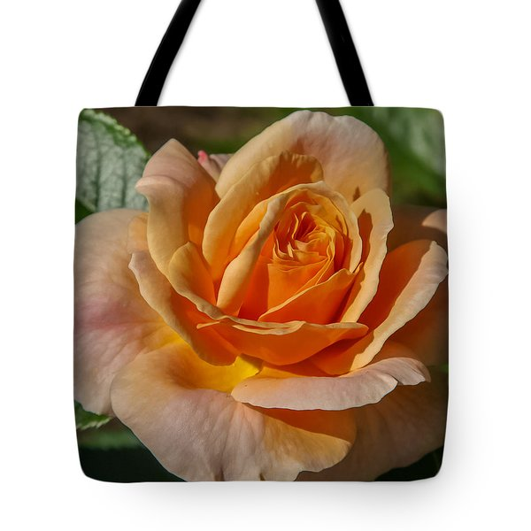 Colorful Rose Tote Bag by Jane Luxton