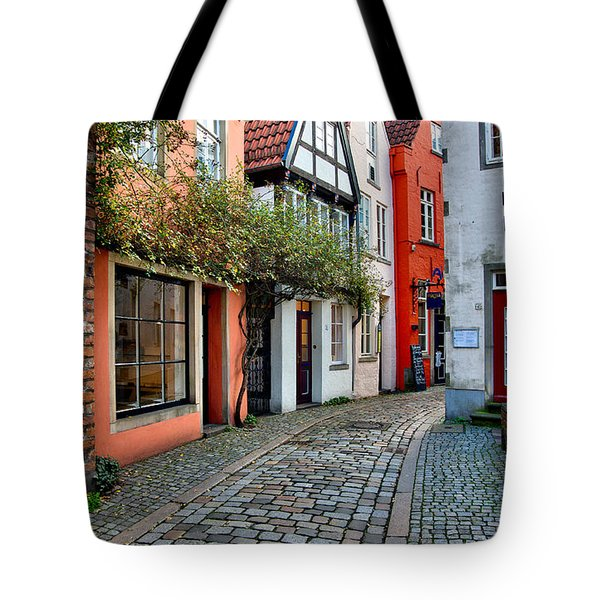 Colorful Schnoor Tote Bag