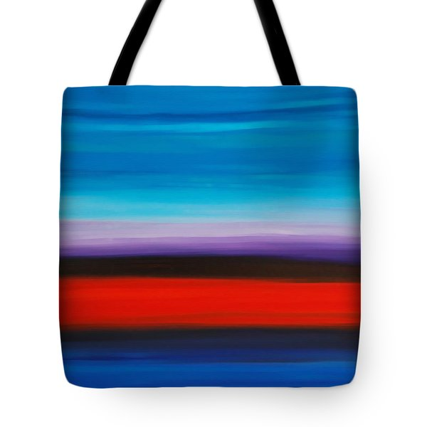 Colorful Shore - Abstract Art By Sharon Cummings Tote Bag by Sharon Cummings