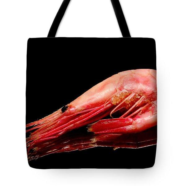Colorful Shrimp Tote Bag by Tommytechno Sweden