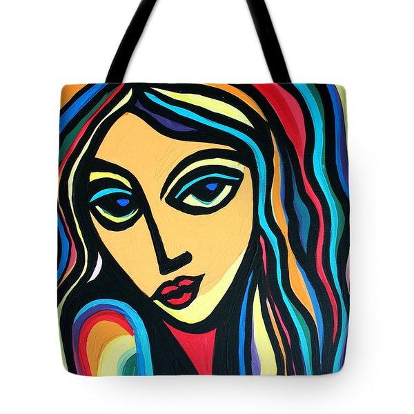 Colorful Stare Tote Bag