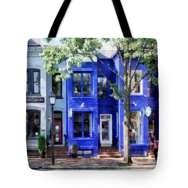 Alexandria Va - Colorful Street Tote Bag