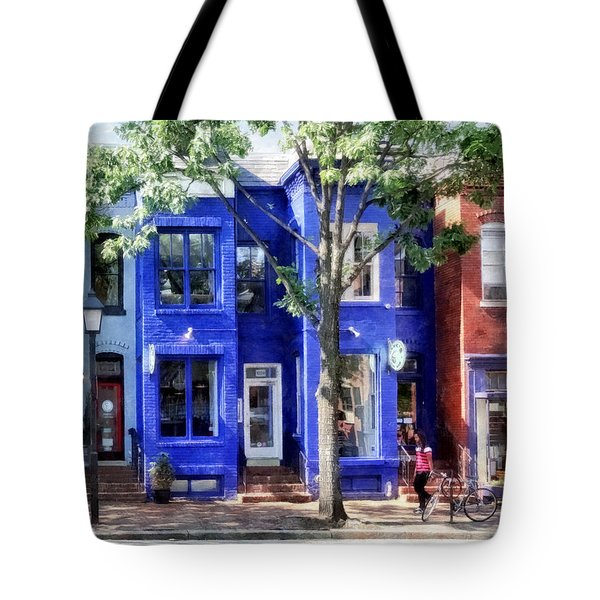 Alexandria Va - Colorful Street Tote Bag