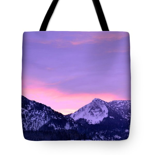 Tote Bag featuring the photograph Colorful Sunrise No. 1 by Dorrene BrownButterfield