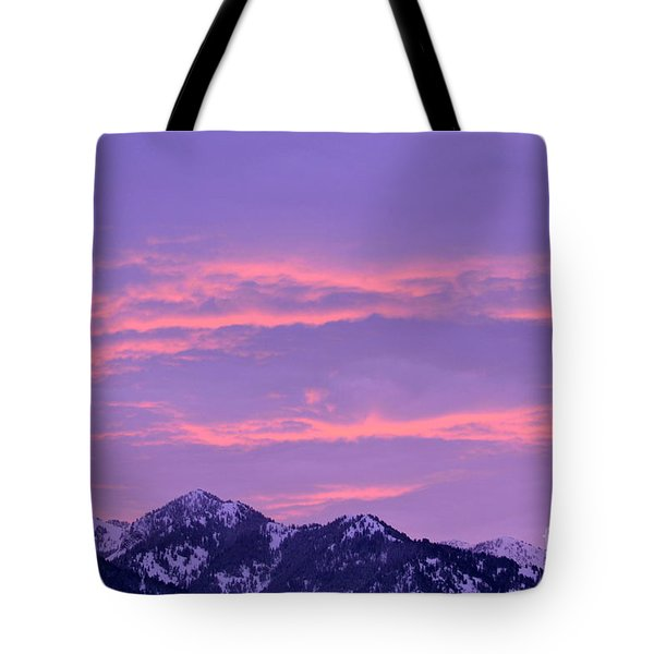 Tote Bag featuring the photograph Colorful Sunrise No. 2 by Dorrene BrownButterfield