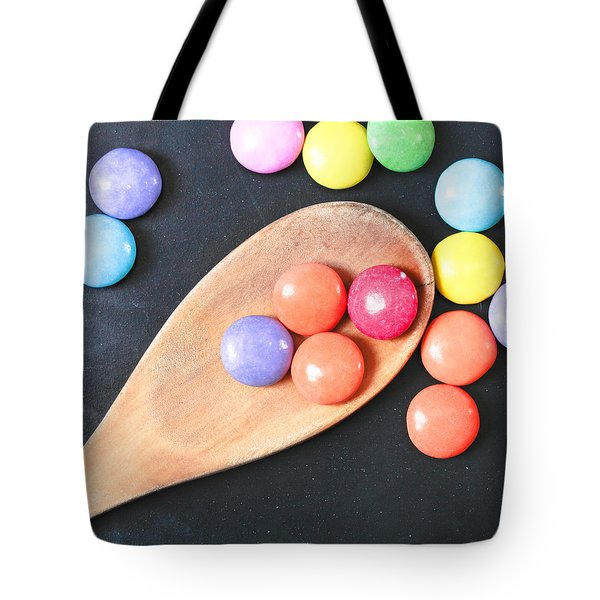 Colorful Sweets Tote Bag by Tom Gowanlock