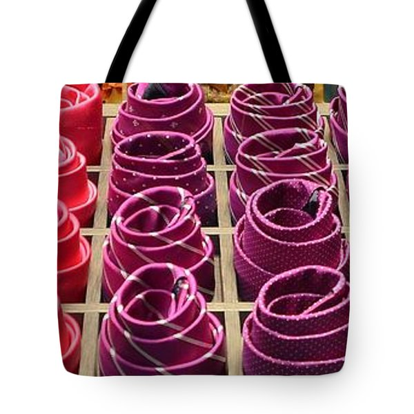 Colorful Ties Tote Bag by Dany Lison