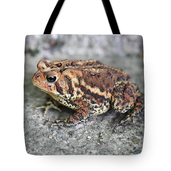 Colorful Toady Tote Bag