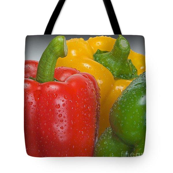 Colorful Trio Tote Bag by Susan Candelario