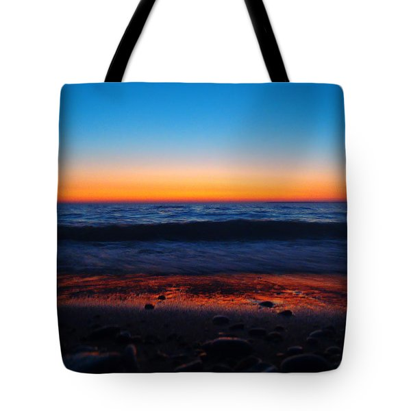 Colorful Twilight Tote Bag