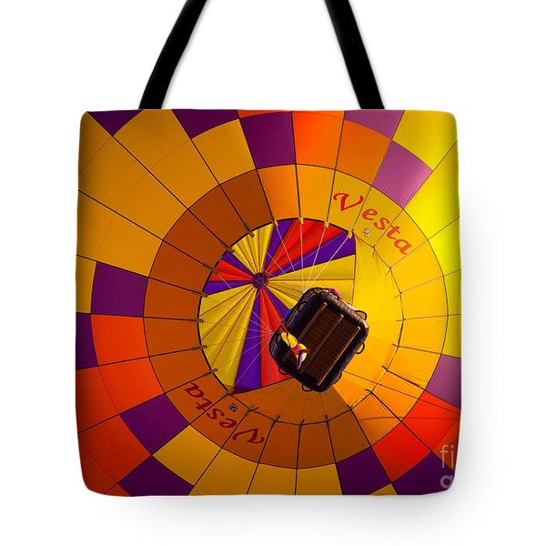 Colorful Underbelly Tote Bag by Inge Johnsson