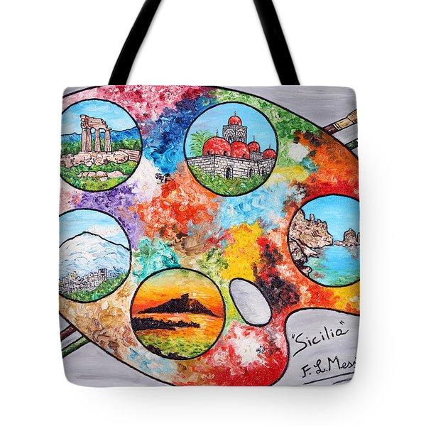 Colori Di Sicilia Tote Bag