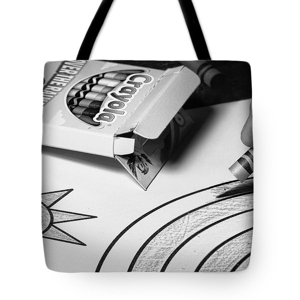 Coloring Without Color Tote Bag