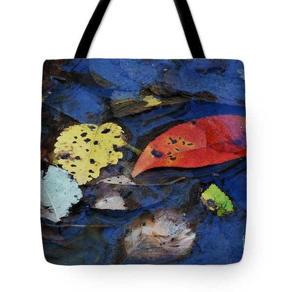 Colors A Drift Tote Bag by J L Zarek