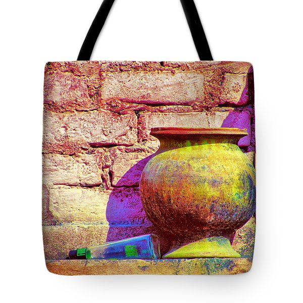 Colors And The Sun Tote Bag