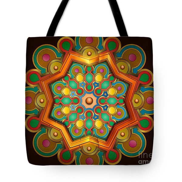 Colors Burst Tote Bag by Bedros Awak