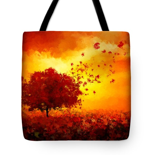 Colors Hymn Tote Bag by Lourry Legarde