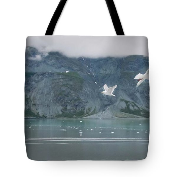 Colors Of Alaska - Glacier Bay Tote Bag