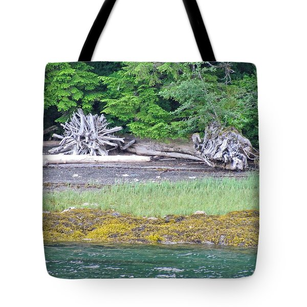 Colors Of Alaska - Layers Of Greens Tote Bag