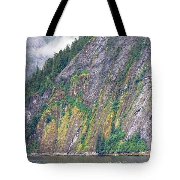 Colors Of Alaska - Misty Fjords Tote Bag