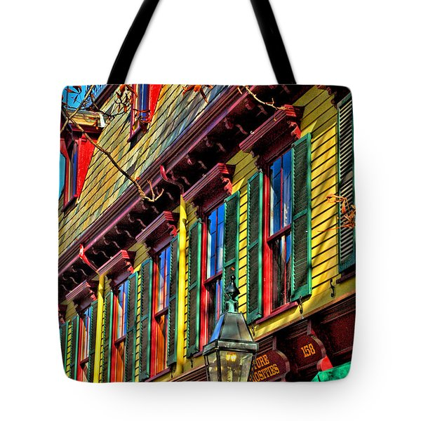 Colors Of Autumn Tote Bag by Joann Vitali