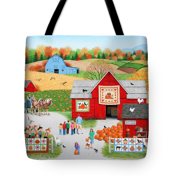 Colors Of Autumn Tote Bag by Wilfrido Limvalencia
