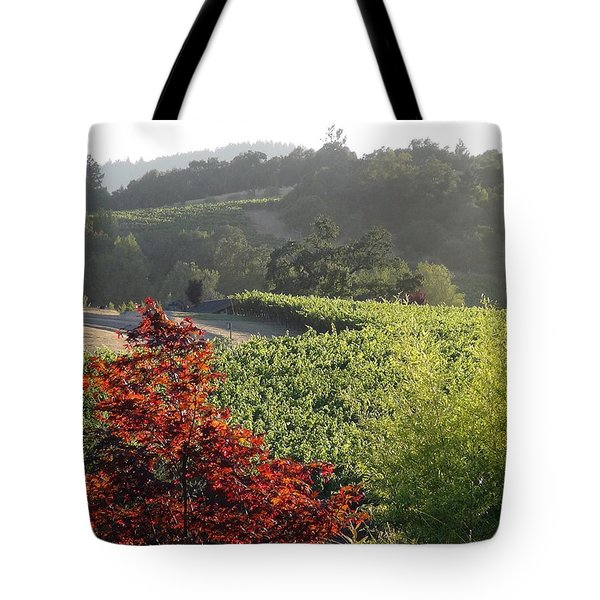 Colors Of Cali Tote Bag by Shawn Marlow