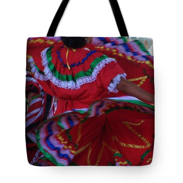 Colors Of Dance Tote Bag