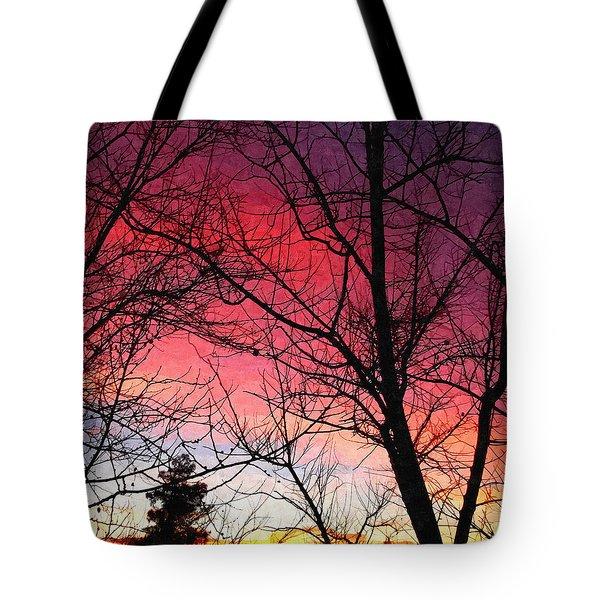 Colors Of Dusk Tote Bag
