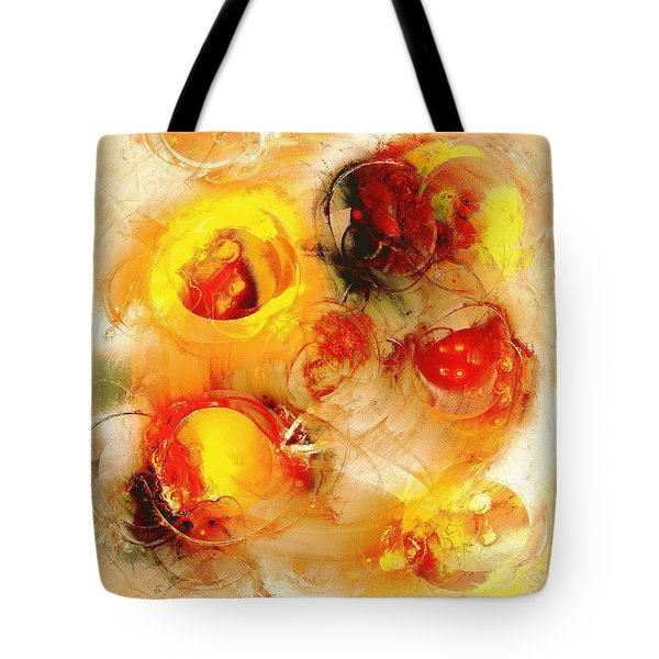 Colors Of Fall Tote Bag by Anastasiya Malakhova