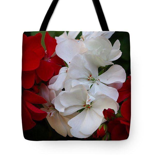 Colors Of Flowers Tote Bag by James C Thomas