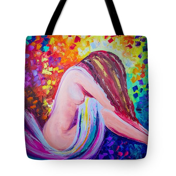 Colors Of Hope Tote Bag by Jessilyn Park