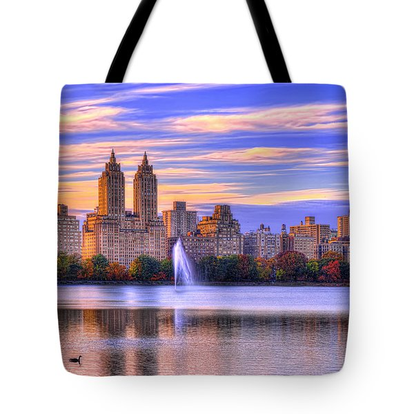 Colors Of New York Tote Bag by Midori Chan