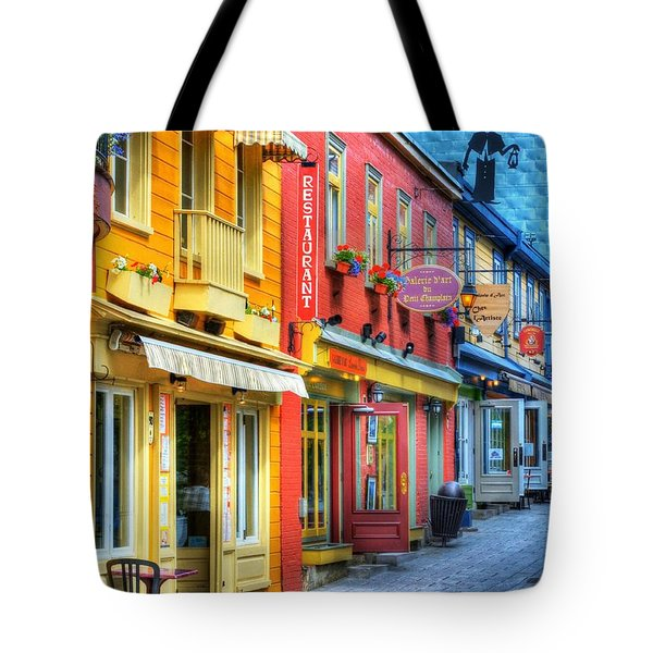 Colors Of Quebec 20 Tote Bag