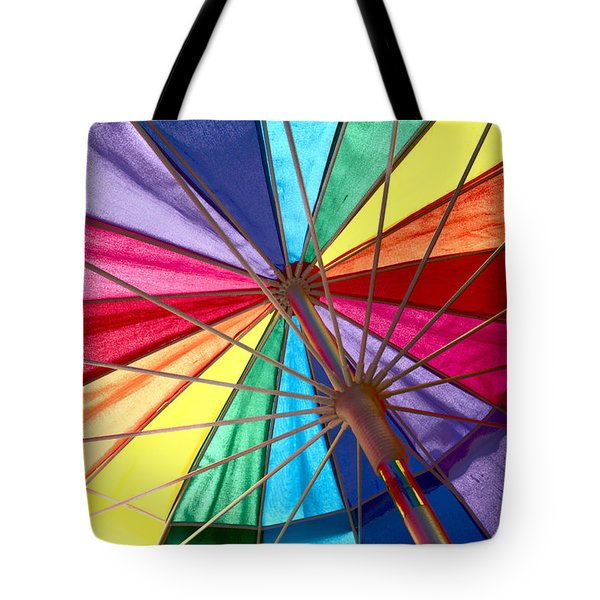 Colors Of Summer Tote Bag by Lynn Sprowl