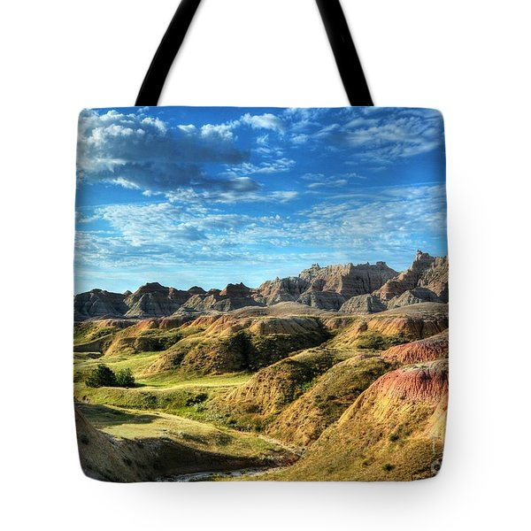 Colors Of The Badlands Tote Bag