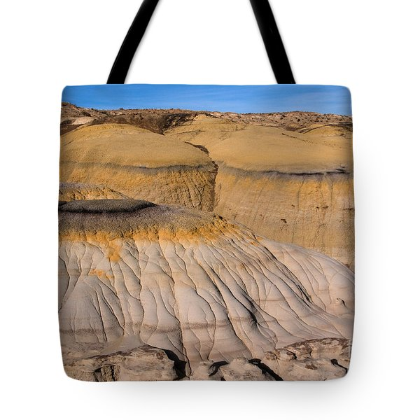 Colors Of The Badlands Tote Bag by Vivian Christopher