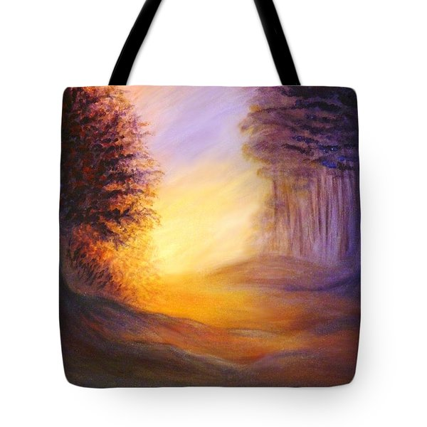 Colors Of The Morning Light Tote Bag