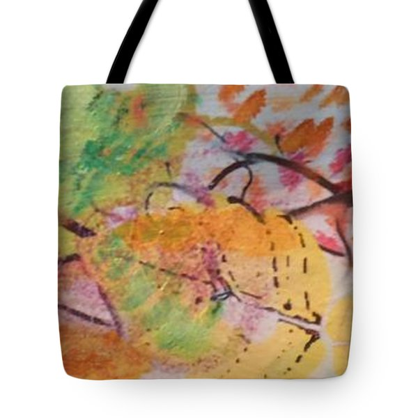 Colors Of The Winds Tote Bag