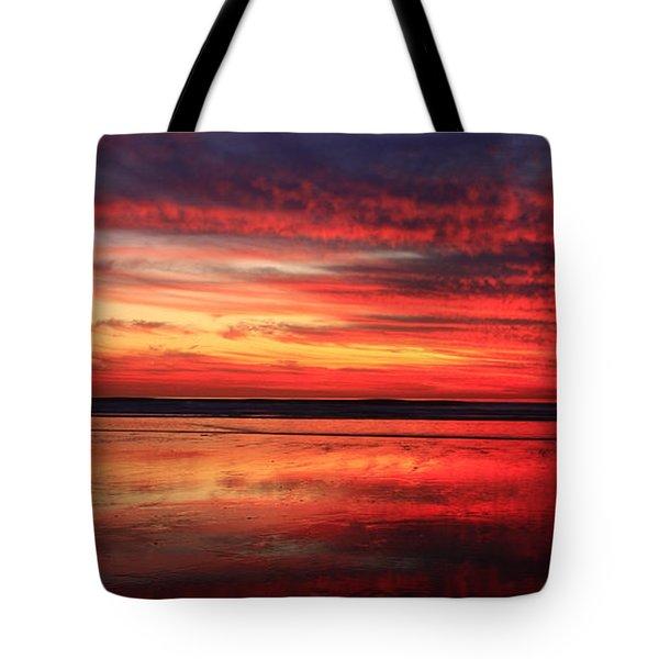 Encinitas Twilight Tide Tote Bag